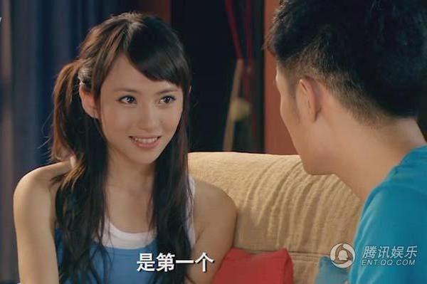 刘萌萌在《爱情公寓》里.