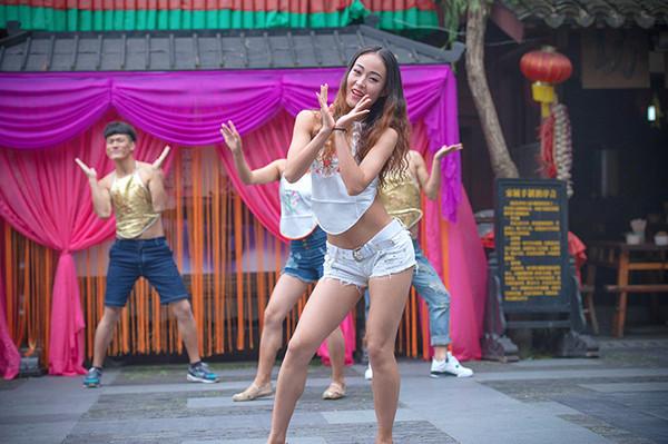 宋城杭州头像头像带你穿越肚兜女生美女千年高清大图图片