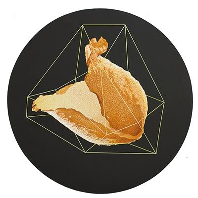 2014年丙烯绘画作品《暗意识系列十一》.