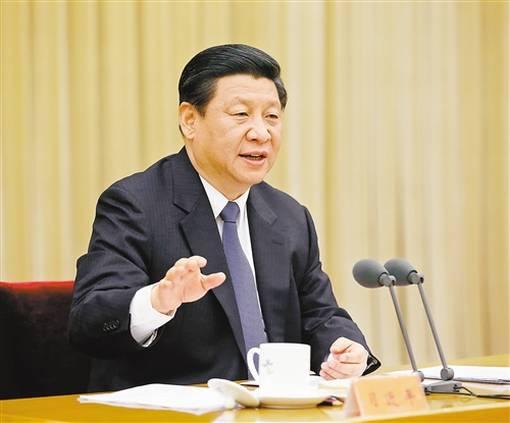 1月7日,中共中央总书记、国家主席、中央军委主席习近平在中央政法工作会议上发表重要讲话。新华社记者 鞠鹏 摄
