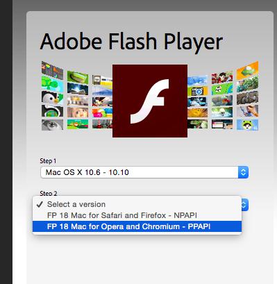 所以如果你这几天再看到文章开始提到的对话框,如果上面写的是Flash,你只需要去下载一个最新的ppai的flash 插件,或者下载一个新版的Chrome。