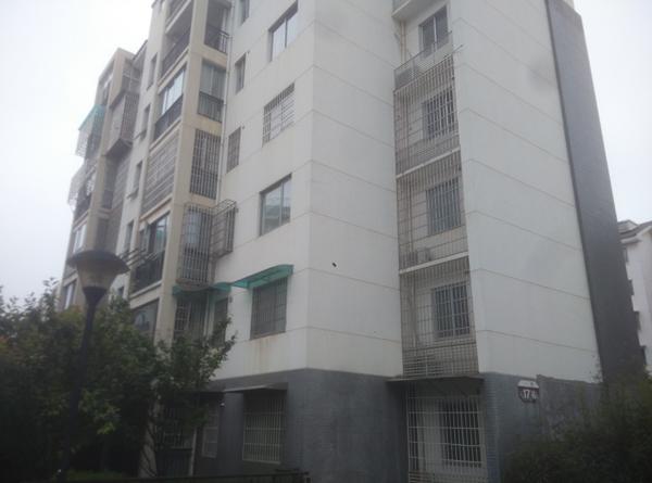 李柳欣称常世雄索要的房屋在这栋楼房内,九峰小区内的楼房外观显得朴素低调。 李云芳 澎湃资料