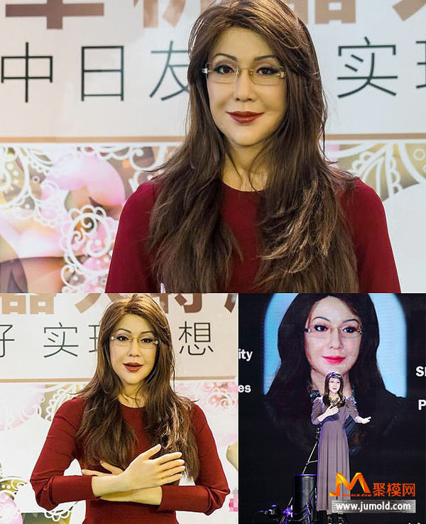 全国最美的美女机器人