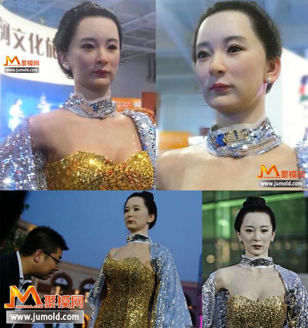 全国最美的美女机器人 机械制造技术屌到爆