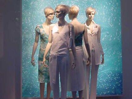 橱窗展示设计时模特儿摆放技巧