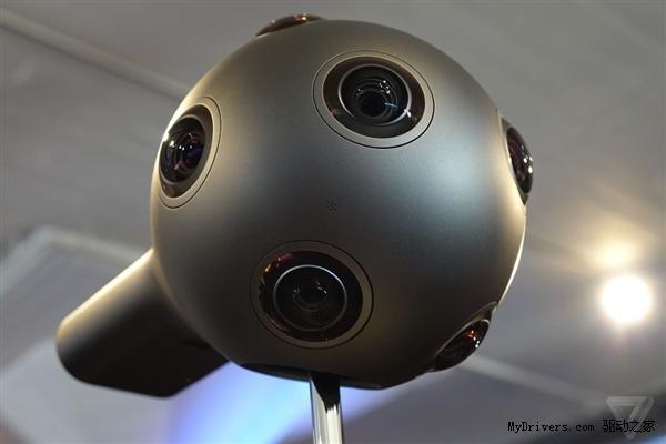 诺基亚发布ozo 360度全景摄像机:多达8只