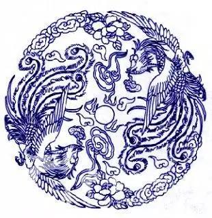 中国青花瓷传统图案寓意