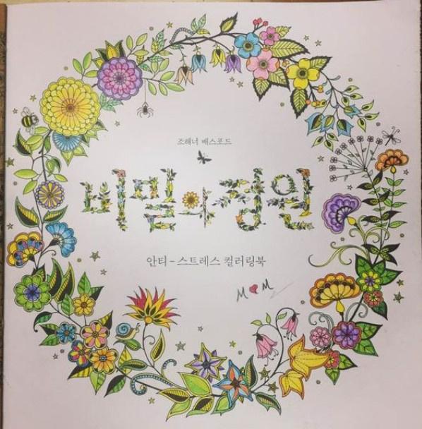 秘密花园涂色第一张_秘密花园涂色书_秘密花园涂书_秘密花园手绘
