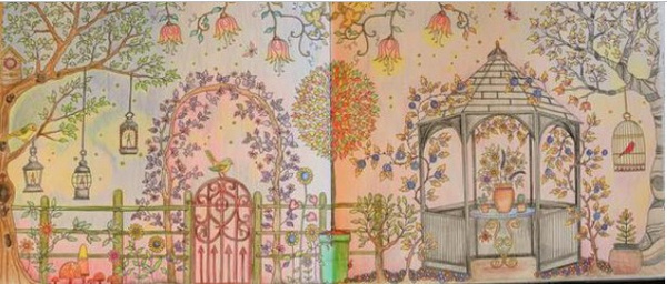 秘密花园涂色第一张_秘密花园涂色攻略与技巧
