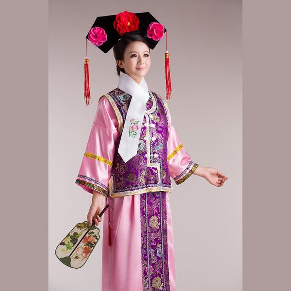 中国古代女性服饰醉美清服图片