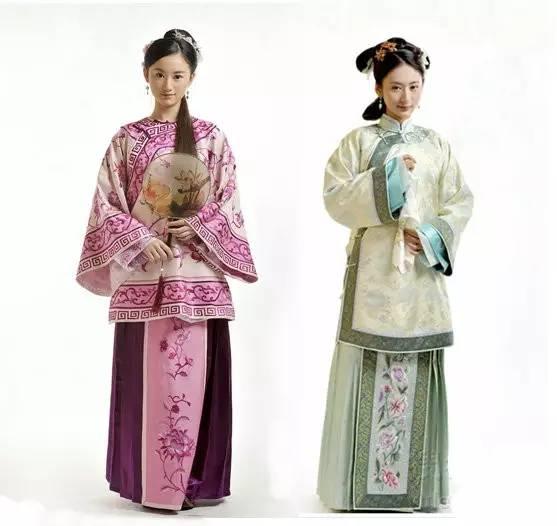 中国古代女性服饰醉美清服!图片