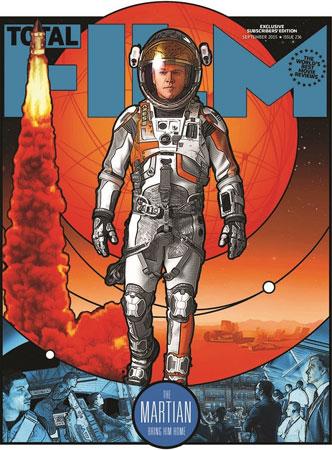 《火星救援》海报登上了著名杂志《完全电影》的封面图片