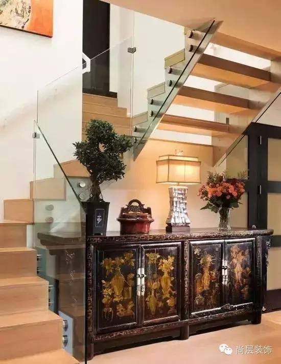 禅意中式旋转楼梯