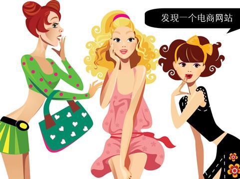客服头像女生职业卡通