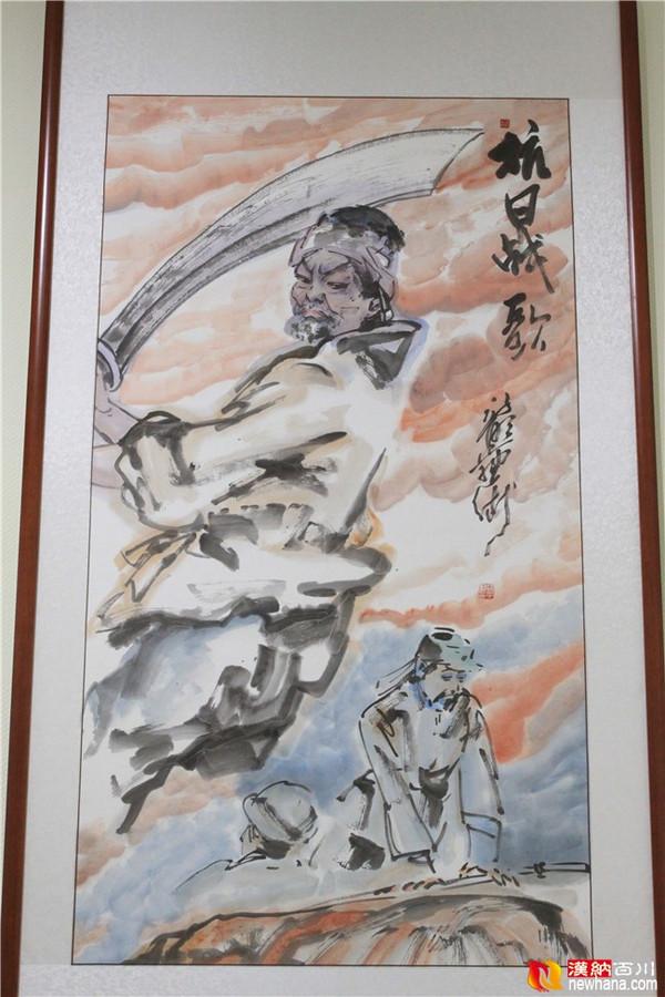 英烈祭民族魂中国梦作品展 好评如潮