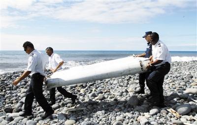 29日,法属留尼汪岛发现疑似MH370机翼残骸。图/东方IC