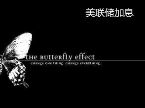 王静攸:蝴蝶效应,谈美联储加息