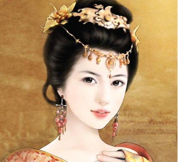 古装手绘妃嫔图片大全