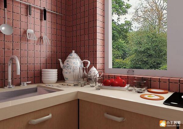 切,煮)的操作顺序;常见的是地锅灶,燃气灶和采暖炉并用型厨房,将采暖图片
