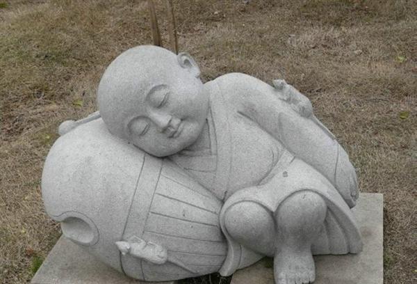 特色石雕寺庙小和尚(小沙弥)