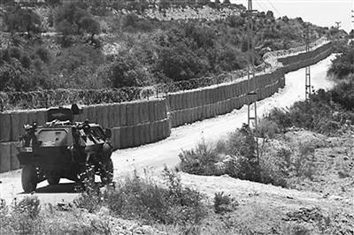 土耳其政府在土叙边界建起的高墙