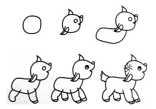 【教师篇】幼儿园动物简笔画教程大全(家长也可收藏)