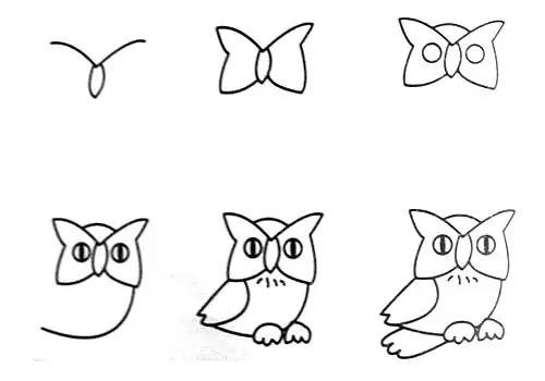 幼儿园动物简笔画教程大全 家长也可收藏