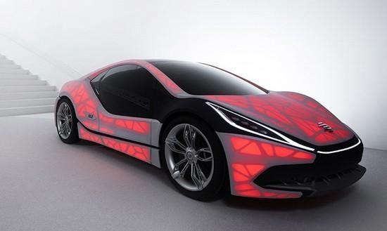 未来的汽车会是什么样子?有人说,应该像奔驰