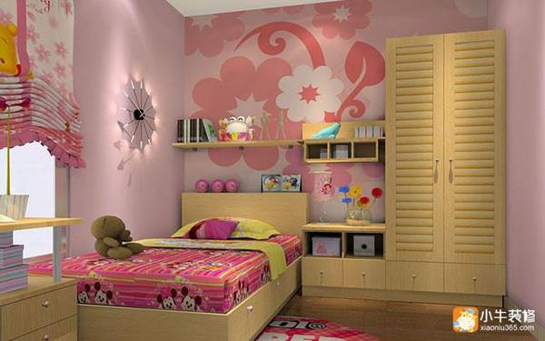 ,然后再窗帘、床铺和房间摆设上多花一些心思,给自家的孩子也创造