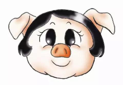 猪头图片卡通图片