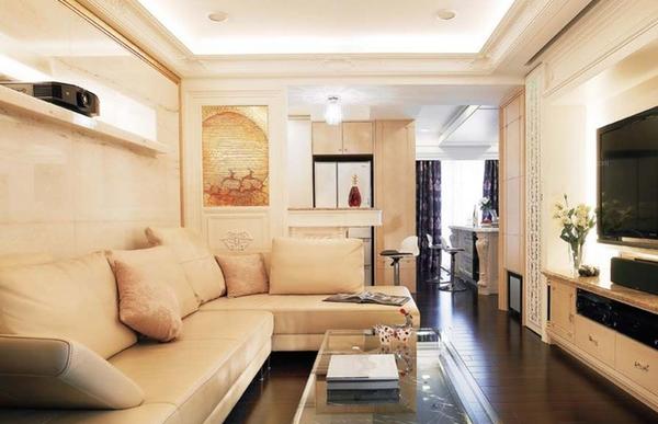 小户型室内装修设计省钱方法图片