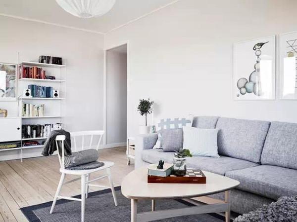 北欧风格客厅大集合——业之峰装饰图片