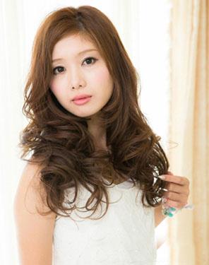 发型蓬松v发型图片气质女生有学生马尾辫的各种扎法短发层次时尚图片