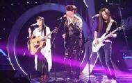 吉他美女综艺舞台和导师飚琴