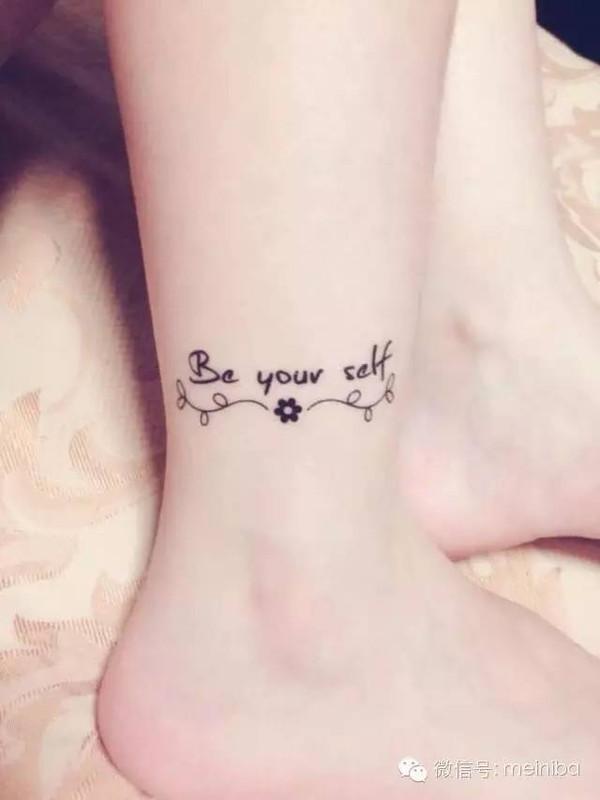 肩膀上,背上各种地方,今天小编整理了一些纹在足上的小纹身,真的小