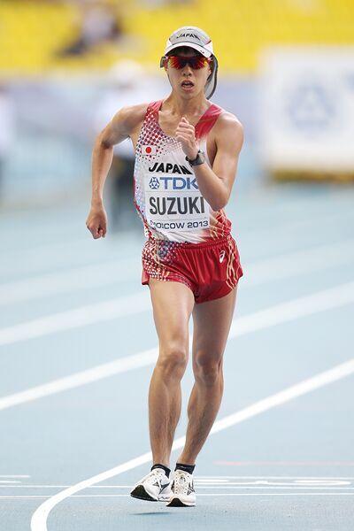 日本男子20公里竞走选手铃木雄介