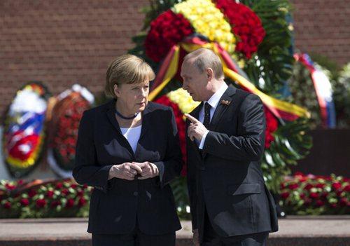 20多个国家领导人出席.然而,因为乌克兰问题,主要西方国家领导图片