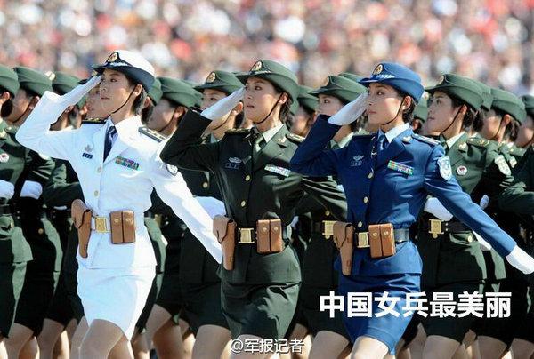 [网摘 原编] 惊艳女兵 中国最美 - 十月大哥 - 十月大哥的博客