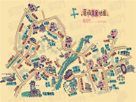 济南吃货美食地图