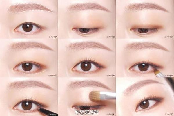 金妍儿仿妆--单眼皮和内双菇凉的福利!