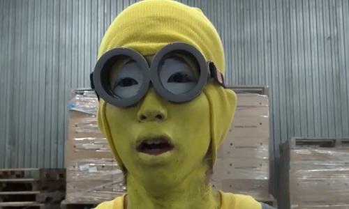 出演 小黄人要吃香蕉图片
