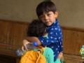 《爸爸去哪儿第三季片花》20150807 预告 诺一暖心照顾妹妹霓娜 卷袖口喂饭细致入微