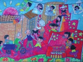 """第五届""""中国人寿杯""""少年儿童绘画作品展(组图)图片"""
