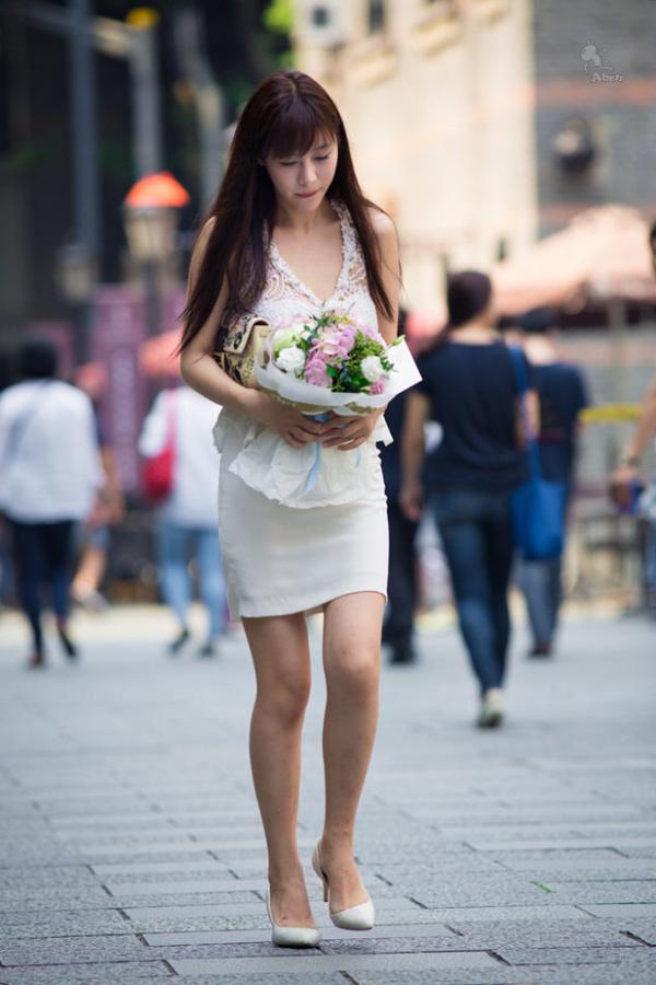 街拍-上海美女性感养眼