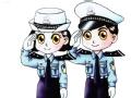 """警官的""""求助"""""""