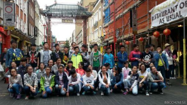 到英国旅游的中国游客人数正在逐年增加(英国广播公司网站)