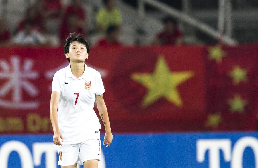 2015年东亚杯女子足球赛第三轮比赛中
