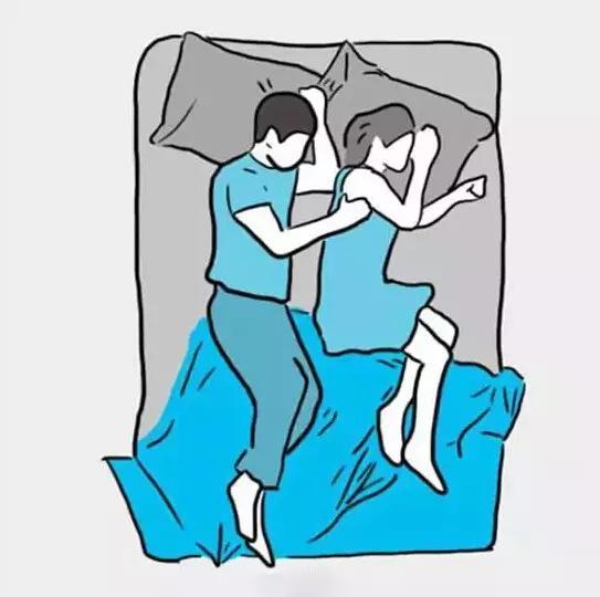 最新情侣床上头像两张