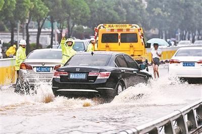 浙江很多城市内涝严重