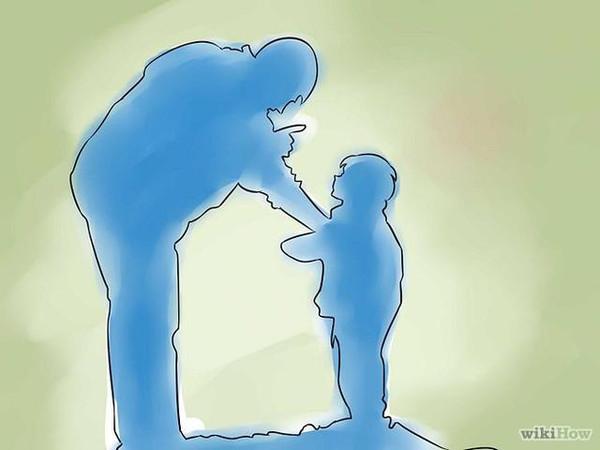 既做严父,又做慈父,有着六条就够了图片